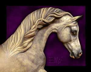 Horse Sculpture by Deborah McDermott