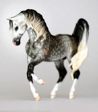 bone china ceramic arabian horse