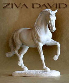 Horse Sculptures by Deborah McDermott